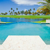 Las Estancias Pool Overlooking Golf Course and Ocean