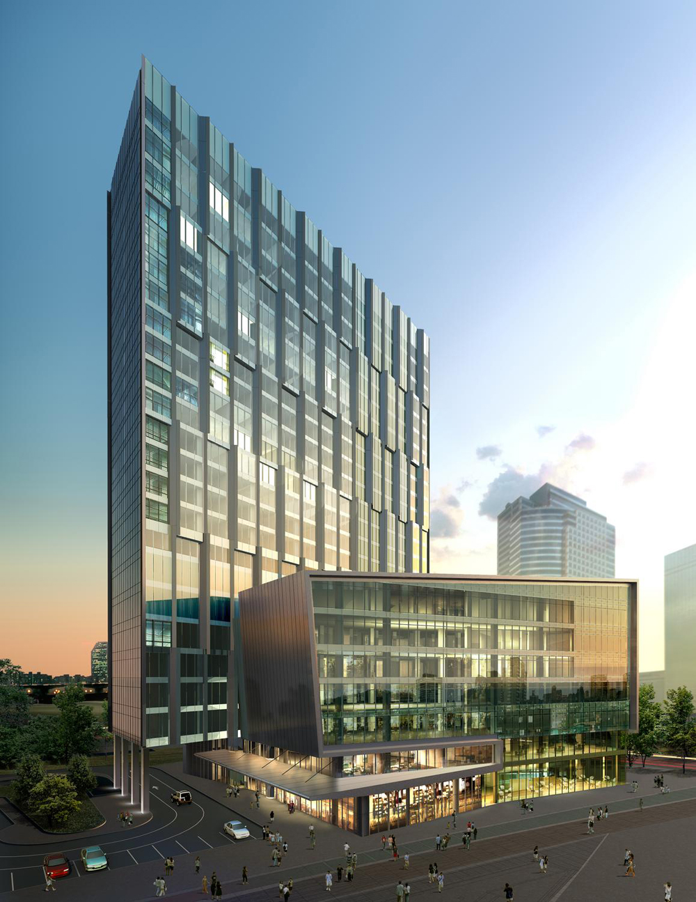 Sheraton Incheon Hotel Will Soon Be Unveiled In Korea S Newest Major Development Songdo City World Property Journal Global News Center
