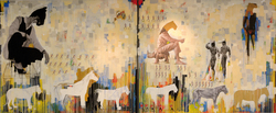 Khaled_Hafez_Divine_Exodus_2009_Acrylic_and_mixed_media_on_canvas_200x500cm.jpg