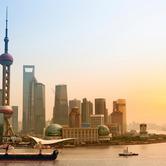 WPC News   Shanghai skyline at dusk, China