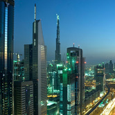 WPC News | Dubai skyline at night, United Arab Emirates