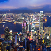 WPC News | Hong Kong skyline at night