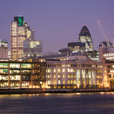 WPC News | River Thames and the City of London at dusk, England