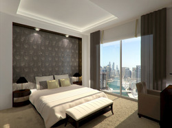 WPC News | Guest room at the Wyndham Dubai Marina