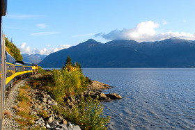 WPC News | The Alaska Railroad rolls past the stunning Turnagain Arm