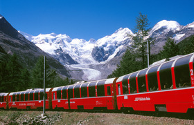 WPC News | The Bernina Express offers one panoramic view after another