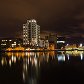 WPC News | Dublin skyline at night, Ireland