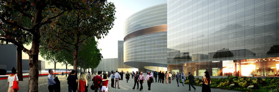 WPC News   Colombia Koolhaas Government building