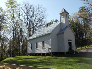 WPC News | Old church in the Great Smoky Mountains of Tennessee