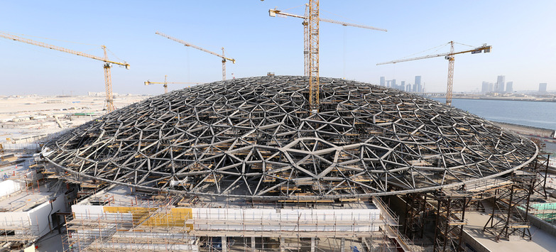 The Louvre Abu Dhabi Nearing Completion