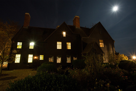 WPJ News | The House of the Seven Gables - symbol of Salem - and a full moon. (Courtesy Jared Charney)