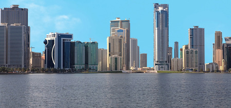 Skyscrapers-in-Sharjah-Khalid-Lagoon-UAE.jpg
