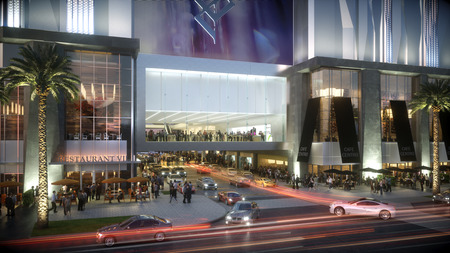 WPJ News | Miami Worldcenter Mall Entrance