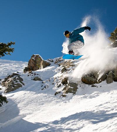 WPJ News   Snowboarding in the magnificent Taos Ski Valley. (Courtesy Taos Ski Valley)