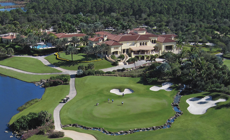WPJ News | Old Palm Clubhouse Aerial