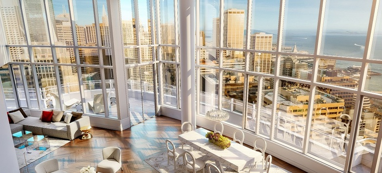 Record-Setting $49 Million Penthouse Hits San Francisco Market