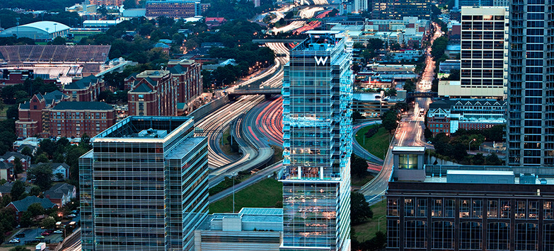 W Hotel in Downtown Atlanta Sold