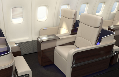 WPJ News | All first class seating on the TCS World Travel jet