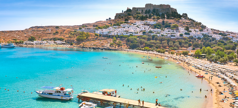 Greek Island of Rhodes Making Luxury Market Comeback