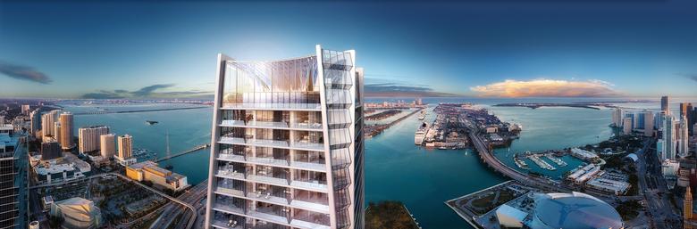 WPJ News | One Thousand Museum - Miami, Fl (Penthouse Views)