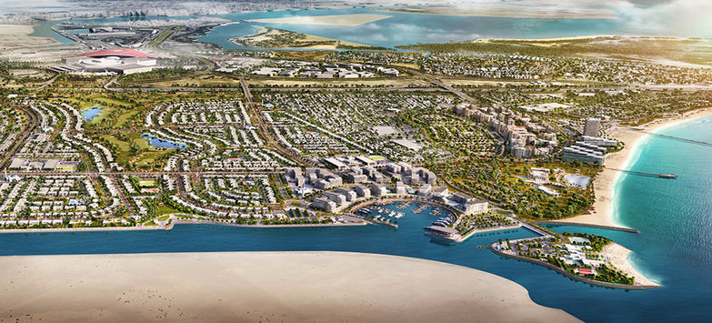 Abu Dhabi's Yas Acres Project Commences Construction