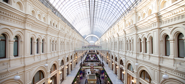 Vacancy Rates Decline on Moscow's Main Retail Corridors