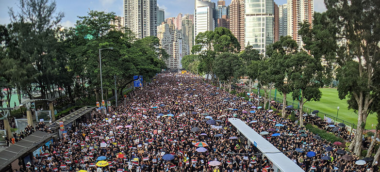 Political Unrest in Hong Kong Negatively Impacting Local Office Markets