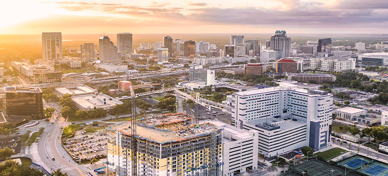 Central Florida's Fast Growing High Tech Corridor Attracting Millennials Nationwide, Driving Local Office Market