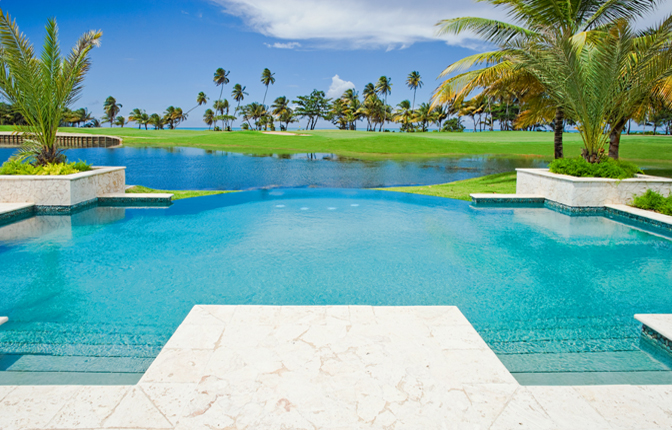 Las Estancias Pool Overlooking Golf Course And Ocean Rendering Of The St Regis Resort Residences