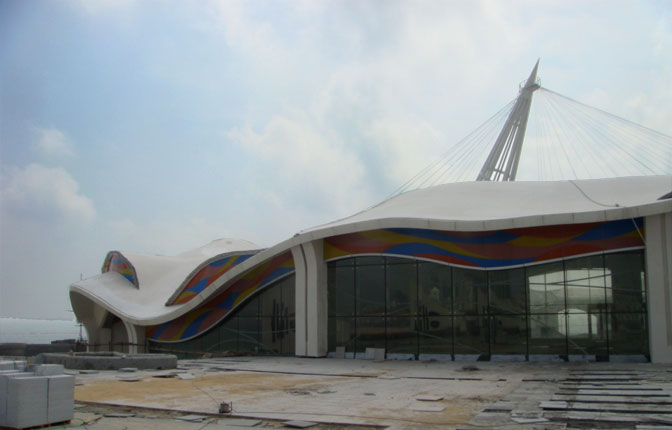 Construction October 2008