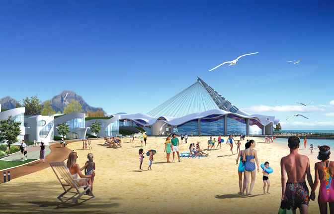 Rendering - Art Topia View from South Beach