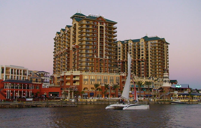 View from Destin Harbor
