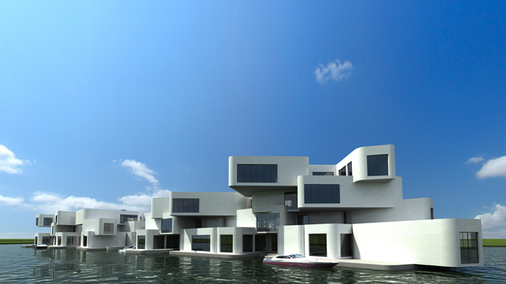 Dutch Firm Developing Floating Apartments