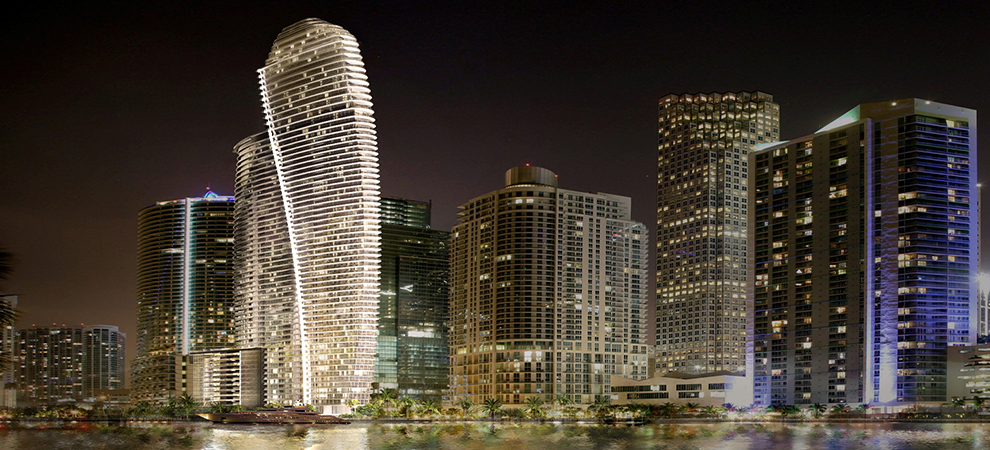 Aston Martin Announces New Luxe 66-Story Miami Condo Tower