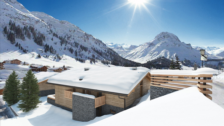 In Austria, a Rare Offering of Ski Resort Homes