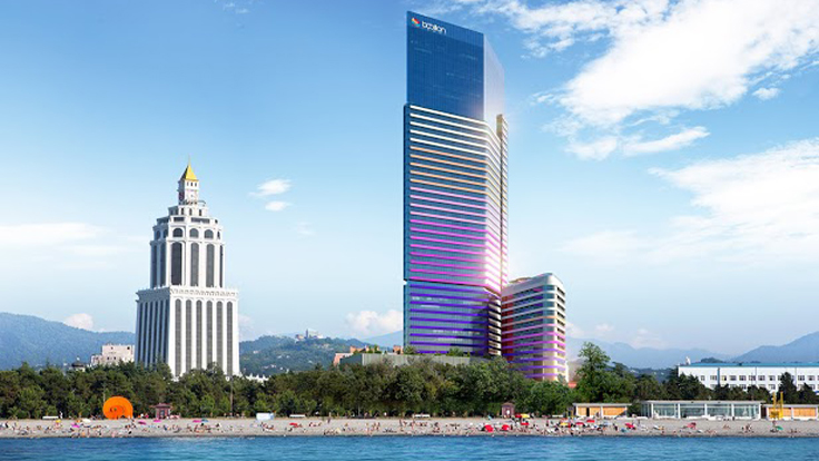 Developer Invests $80 Million in Batumi's Largest Tower