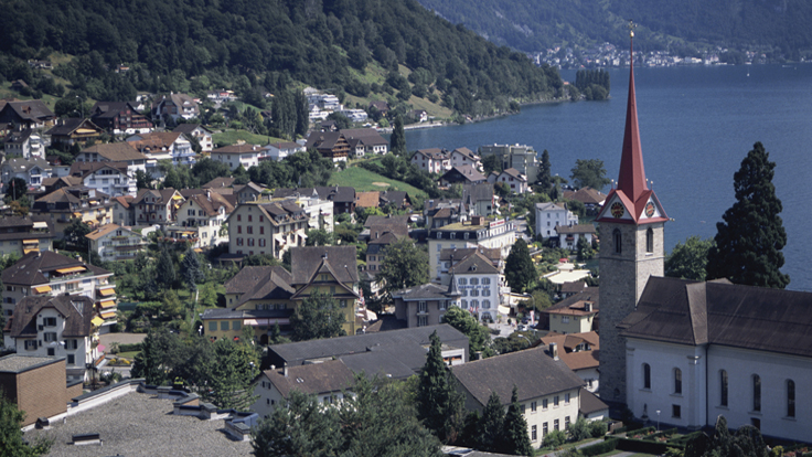Swiss Chalet Prices Jump in Wake of New Law