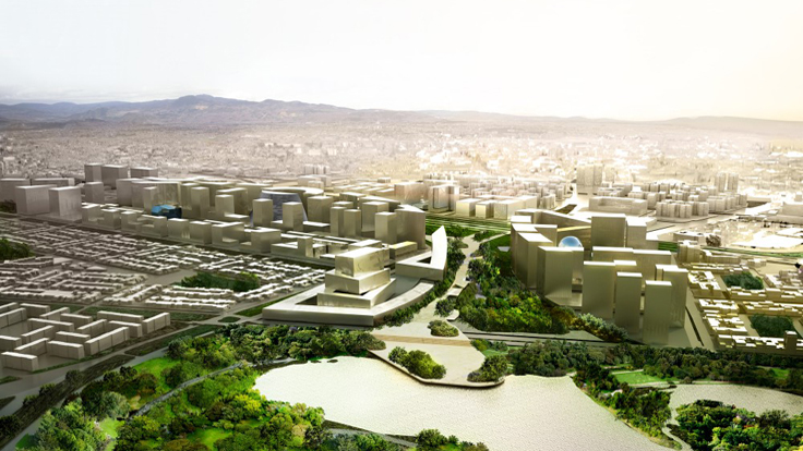 OMA to Design New Bogotá City Center