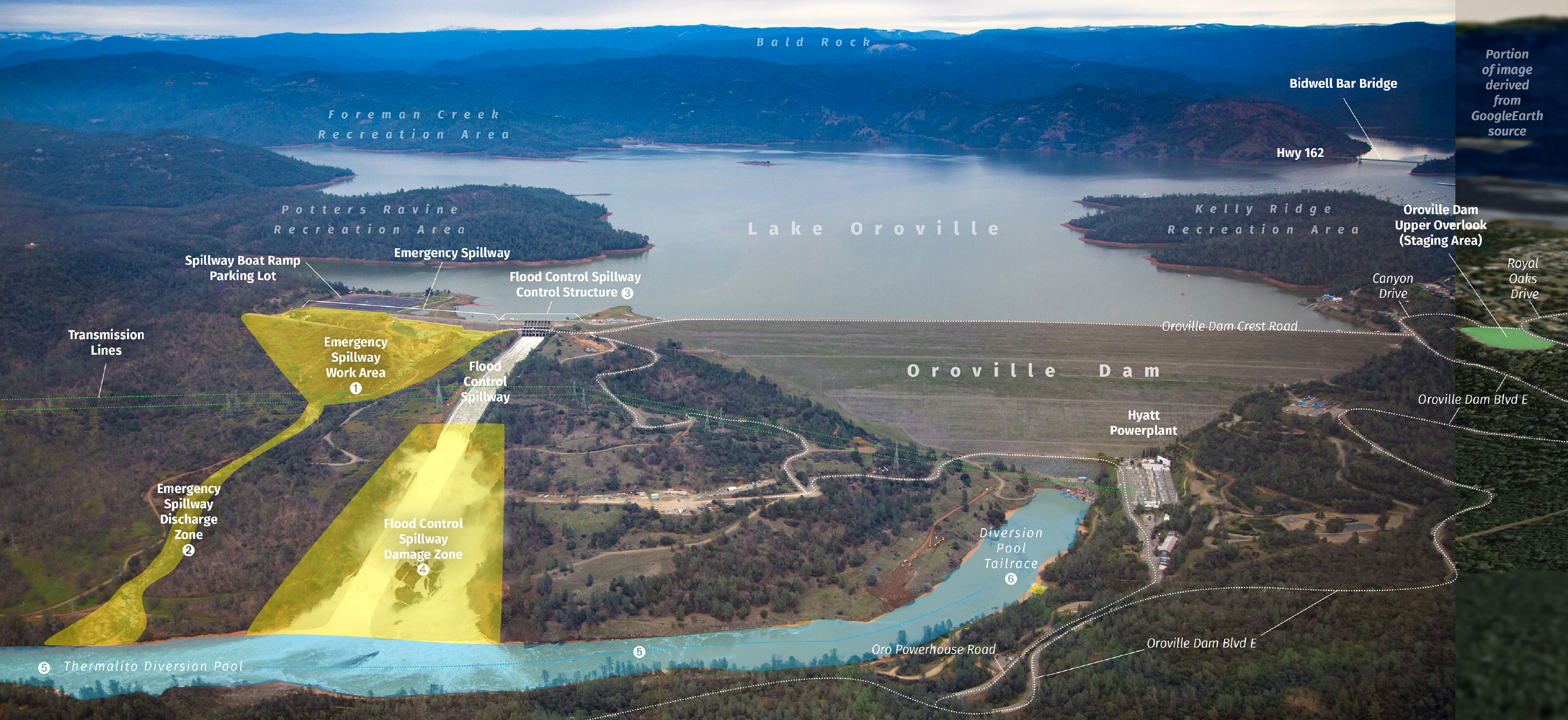 Potential Oroville Dam Failure Puts Over 50,000 Homes at