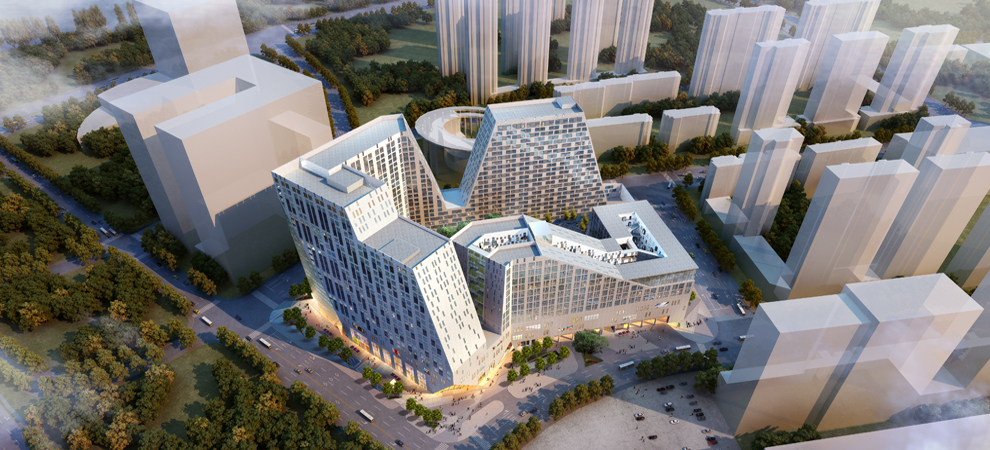 China's Diamond Hill Mega-Project Designed by California Firm