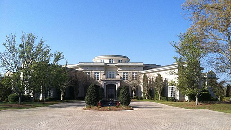 Holyfield Mansion Fails to Sell at Auction, Back on Market