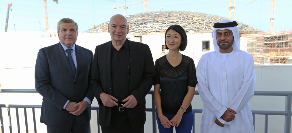 Louvre Abu Dhabi Receives French Culture Minister