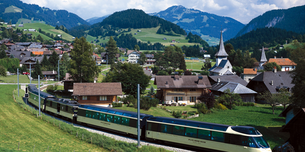 Switzerland by Train: A Land of Contrast