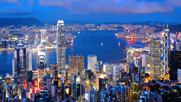 Volume of Property Deals Plunges in Hong Kong