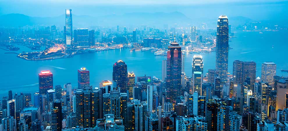 Hong Kong Office Rents Continue to Slide in October