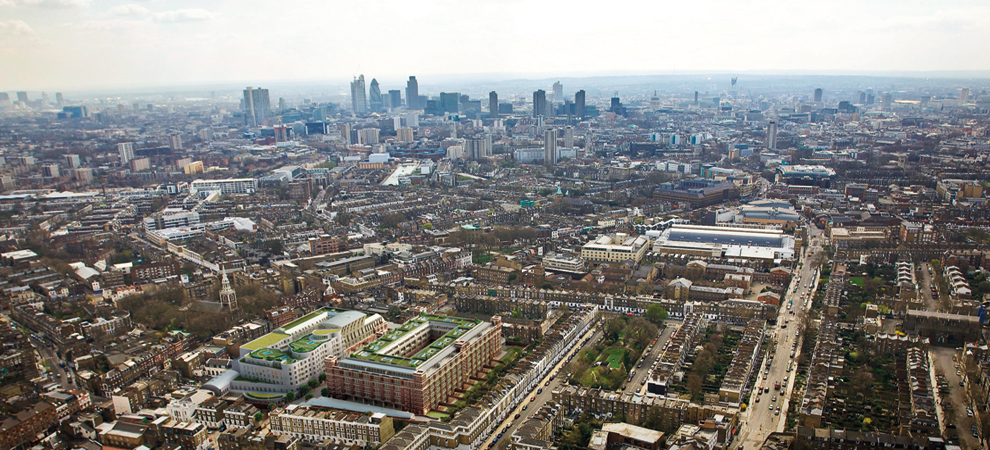 $637 Million Central London Mixed-use Project Announced