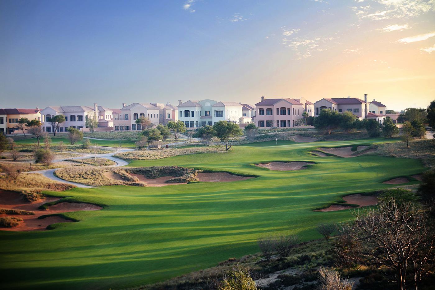 Jumeirah golf estates fire course no 6
