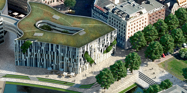 Germany's Kö-Bogen Office Building Signs Boston Consulting Group on a 6,700 Square Meter Lease