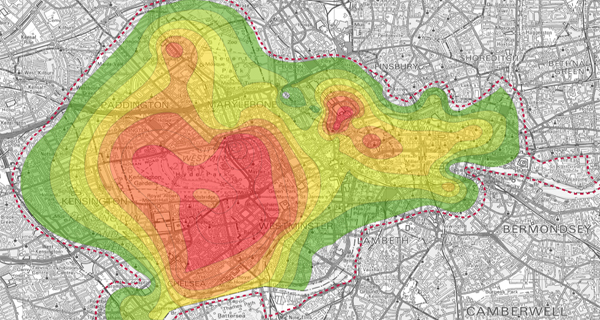 London's Prime Property Footprint Continues to Expand by 1 Kilometer Every 8 Years