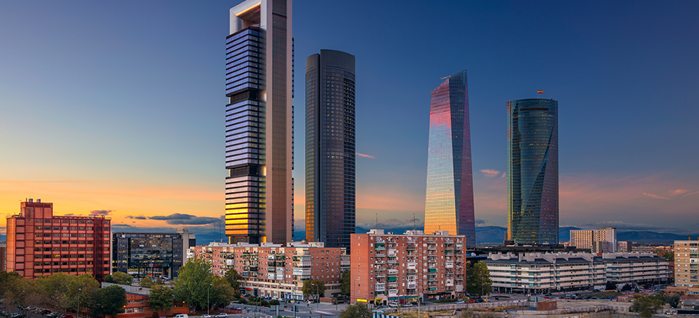 Madrid Office Yields Hit Record Lows in Late 2016